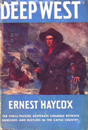 Deep West by Ernest Haycox