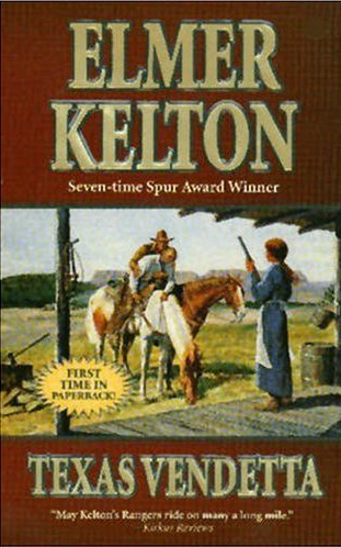 Texas Vendetta by Elmer Kelton