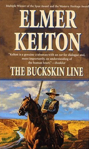The Buckskin Line by Elmer Kelton