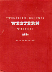 Twentieth Century Western Writers Second Edition
