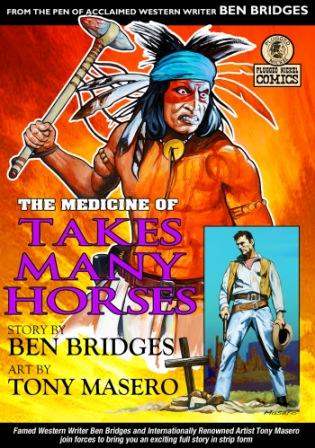 The Medicine of Takes Many Horses by Ben Bridges and Alfred Wallon